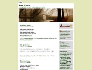 poempublishingsites.wordpress.com screenshot