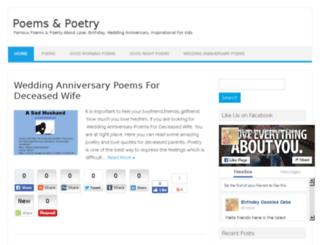 poemspoetry.com screenshot