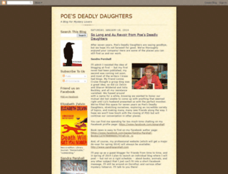 poesdeadlydaughters.blogspot.com screenshot