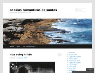 poesia-de-santos.nireblog.com screenshot