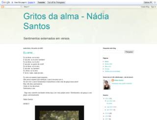 poesiasesonetos.blogspot.com.br screenshot