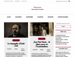 poesie-citation.fr screenshot
