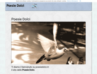 poesiedolci.it screenshot
