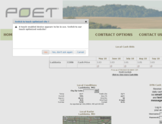 poetbiorefining-laddonia.aghost.net screenshot