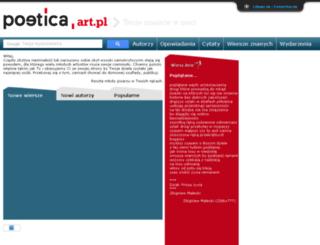 poetica.art.pl screenshot