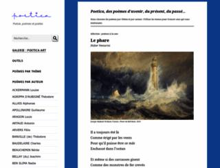 poetica.fr screenshot