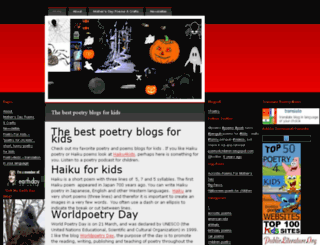 poetry4kids.wordpress.com screenshot