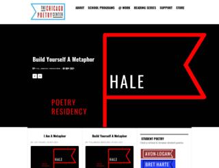 poetrycenter.org screenshot