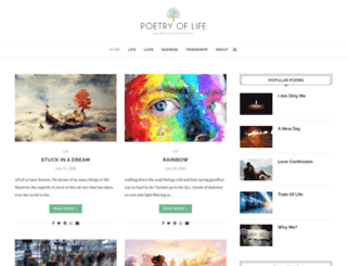 poetryoflife.com screenshot