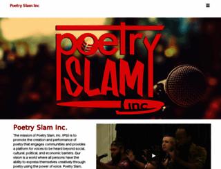 poetryslam.com screenshot