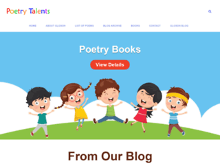 poetrytalents.com screenshot