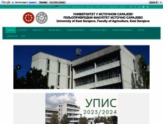 pof.unssa.rs.ba screenshot