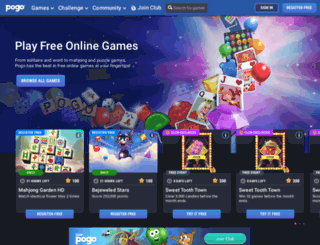 pogo.com screenshot
