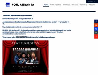 pohjanranta.fi screenshot