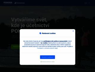 pohoda.cz screenshot
