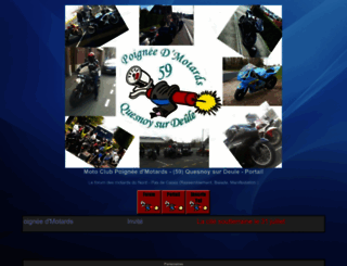 poigneedmotards.1fr1.net screenshot