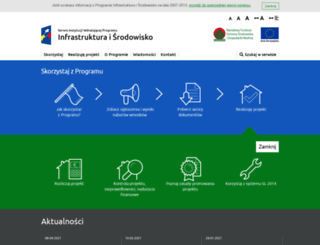 poiis.nfosigw.gov.pl screenshot