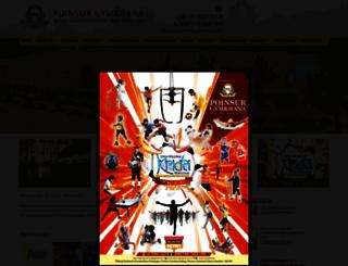 poinsurgymkhana.com screenshot