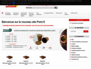 point-e.fr screenshot