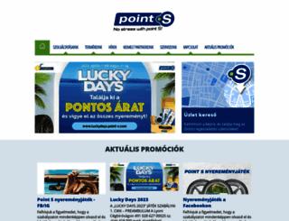 point-s.hu screenshot