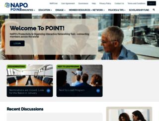 point.napo.net screenshot