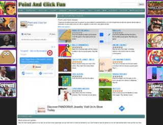 pointandclickfun.com screenshot