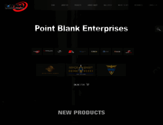 pointblankenterprises.com screenshot