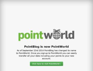 pointblog.dk screenshot