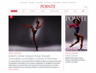 pointemagazine.com screenshot