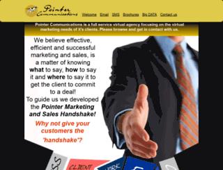 pointercommunications.co.za screenshot