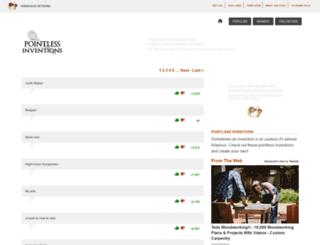 pointlessinventions.com screenshot