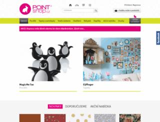 pointshop.cz screenshot