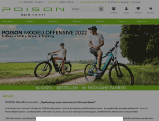 poison-bikes.de screenshot
