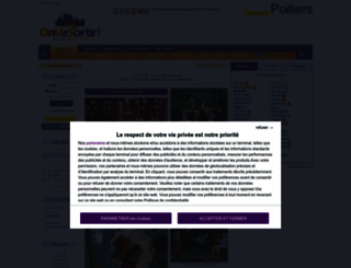 poitiers.onvasortir.com screenshot