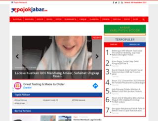 pojokjabar.com screenshot