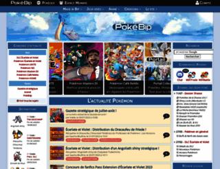 pokebip.com screenshot