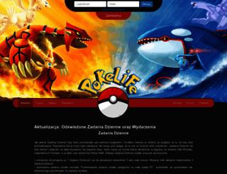 pokelife.pl screenshot