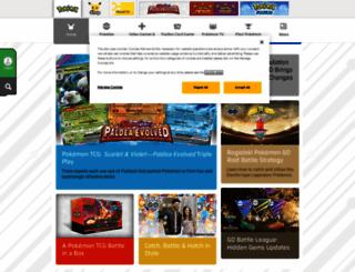 pokeman.com screenshot