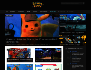pokemon-france.com screenshot