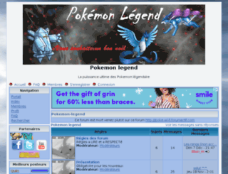 pokemon-legend.tonempire.net screenshot