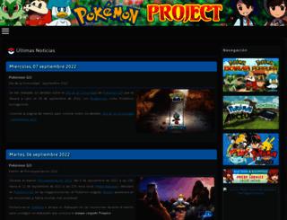 pokemon-project.com screenshot