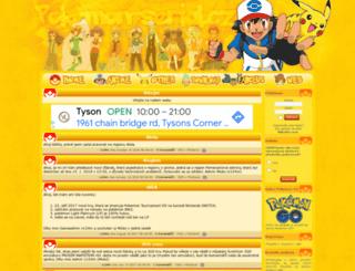 pokemon-serial.cz screenshot