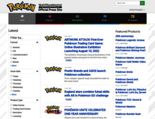 pokemon.gamespress.com screenshot