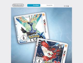 pokemon.nintendo.de screenshot