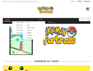 pokemonfortress.com screenshot