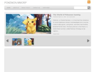 pokemonmmorpg.net screenshot