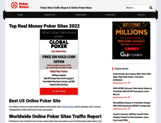 pokerscout.com screenshot