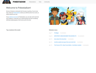 pokestadium.com screenshot