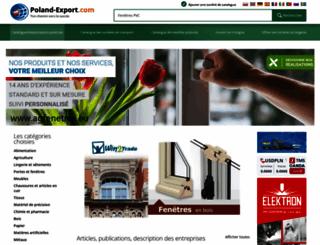 poland-export.com.fr screenshot