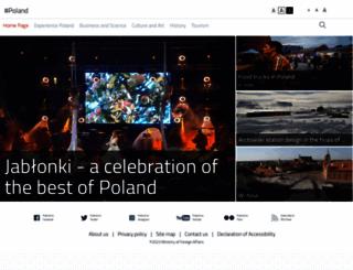 poland.gov.pl screenshot